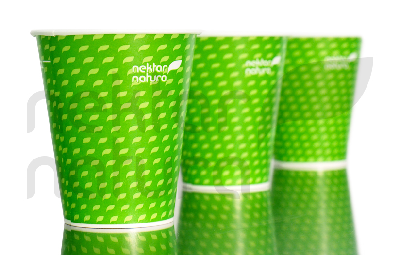 Nektar Natura Paper Cups come with our free refill solutions for